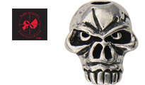 Schmuckatelli Emerson  Skull Bead  by Schmuckatelli Co.
