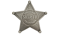 Значка Old West Lincoln County Sheriff Badge by Unknown