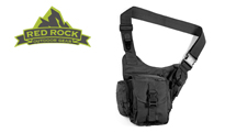 Red Rock Outdoor Gear Sidekick Sling Bag Black by Red Rock