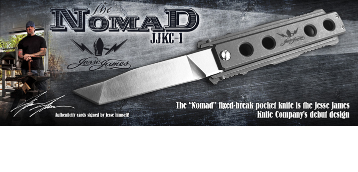 Jesse James  Nomad Swing Blade CF JJKC2 by Unknown