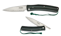 Mcusta Folder Green And Black MCU 193C by MCUSTA knives