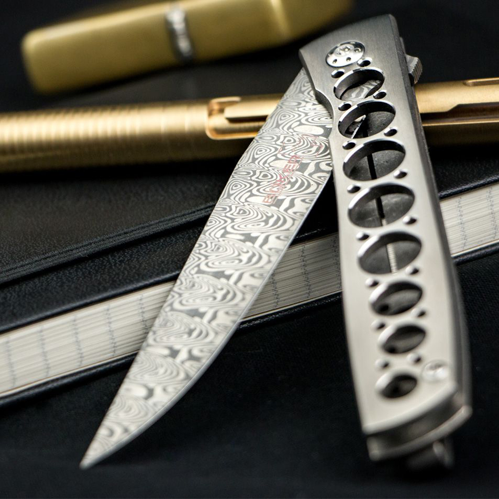 Boker Plus Damasteel Urban Trapper Brad Zinker