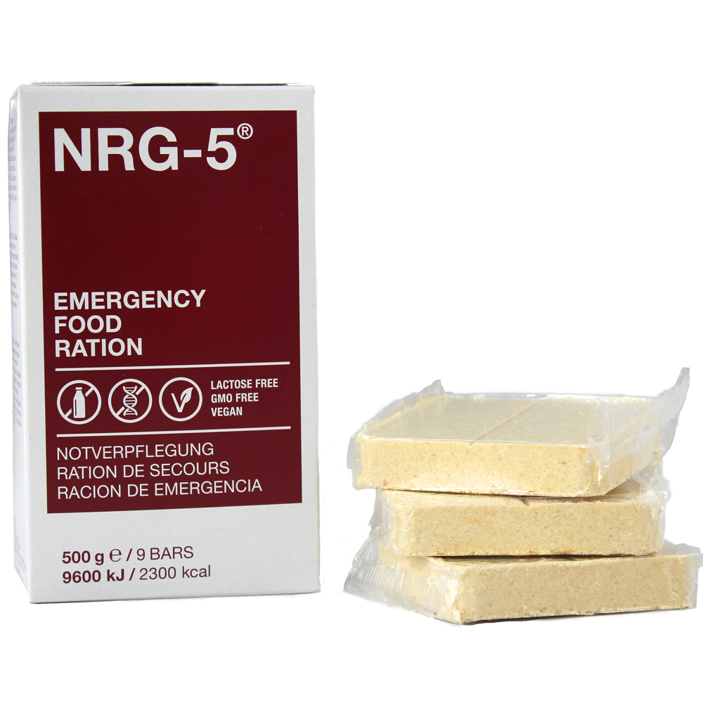 NRG-5 Emergency food rations