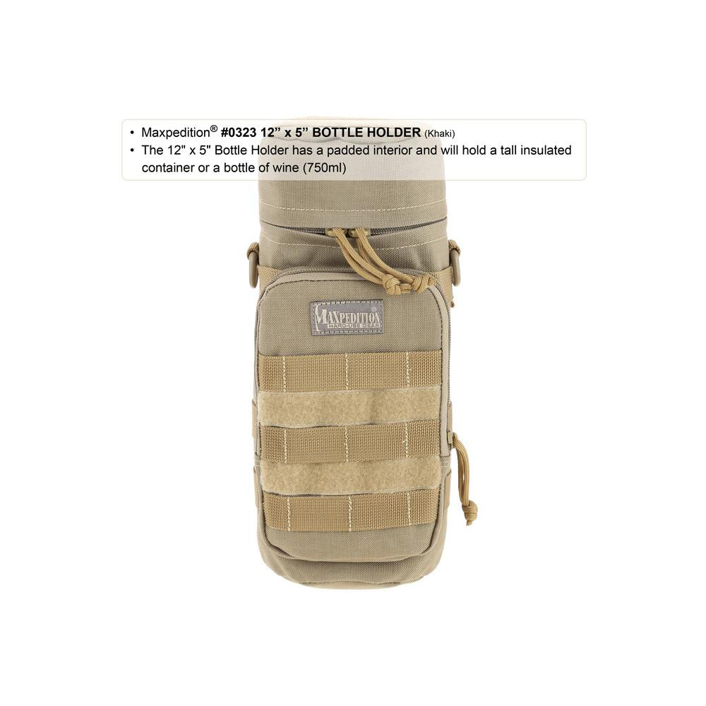 Maxpedition Bottle Holder 12 x 5 in