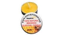 Восъчна свещ - Survival Beeswax Candle by Unknown