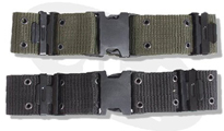 Mil-Com Зелен колан Quick Release Nylon Pistol Belt by MIL-COM