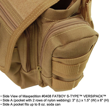 MAXPEDITION FATBOY S-TYPE VERSIPACK