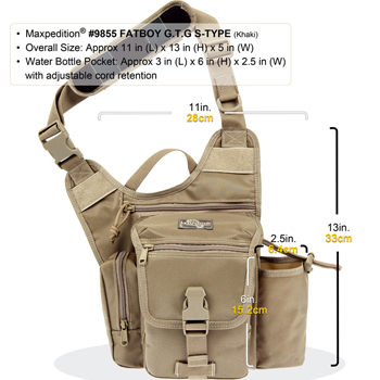 Maxpedition Fatboy G.T.G. - S type