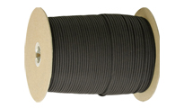 Черен Паракорд Parachute cord (PARACORD550) 1 m by Unknown