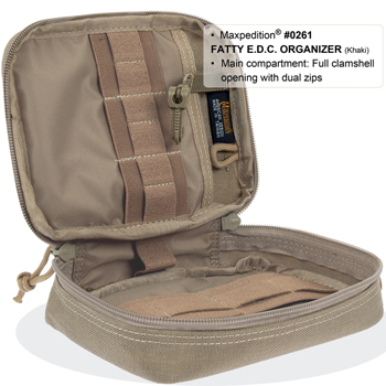 Maxpedition Fatty Pocket Organizer